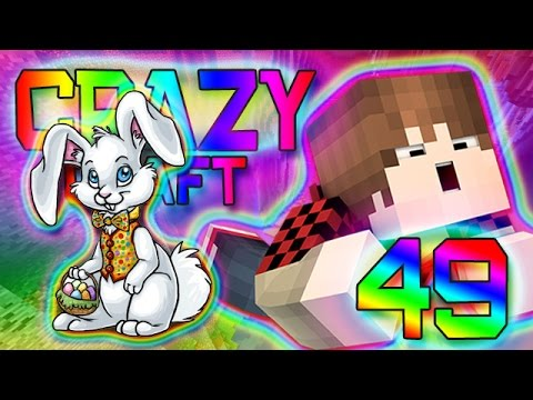 Minecraft: EASTER BUNNY HUNT! Crazy Craft 2.0 Modded Survival w/Mitch! Ep. 49 (Crazy Mods)