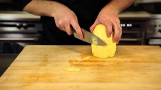 How to Cut a Pineapple Like a Chef : Chef Skills & Recipes