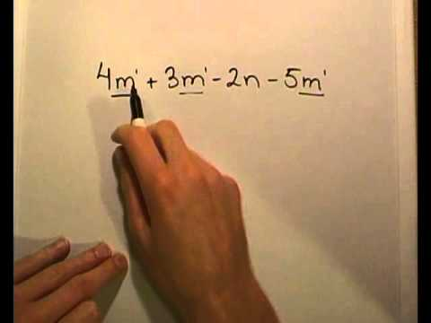 A Review of Elementary Algebra Part 1