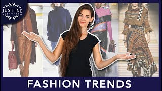 FASHION TRENDS Fall 2018 - Winter 2019 & how to wear them ǀ Justine Leconte