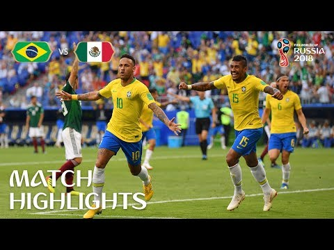 Brazil V Mexico - 2018 FIFA World Cup Russia™ - Match 53