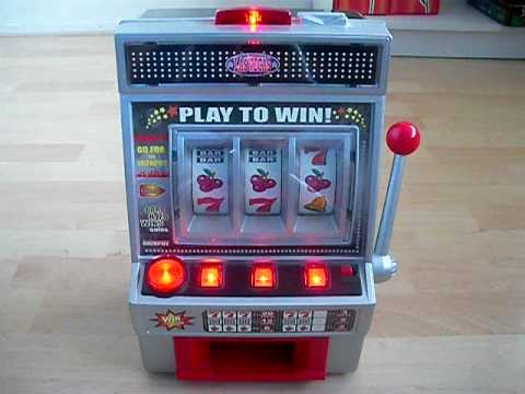 Fruitmachine in actie