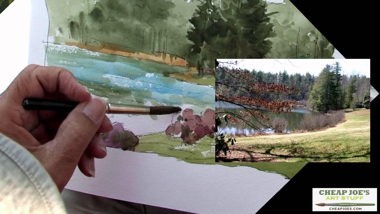 don getz watercolor techniques - artist journal