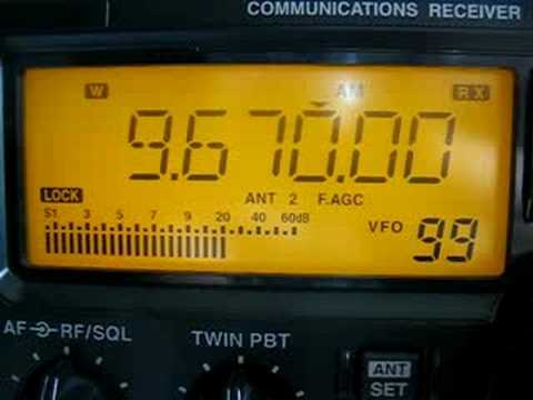 ICOM R75 + UT-102 voice synthetizer unit