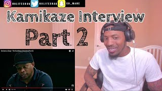 Eminem said Rap Devil was good for MGK lol!  | The Kamikaze Interview (Part 2) REACTION