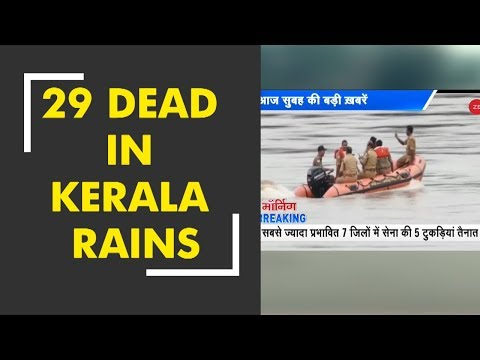 Morning Breaking: Heavy rains, landslide in Kerala leaves 29 dead