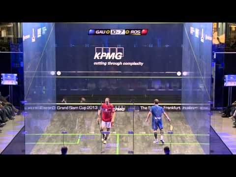 Squash : KPMG grand Slam Cup 2013 (Exhibition) Playoff & Final Roundup