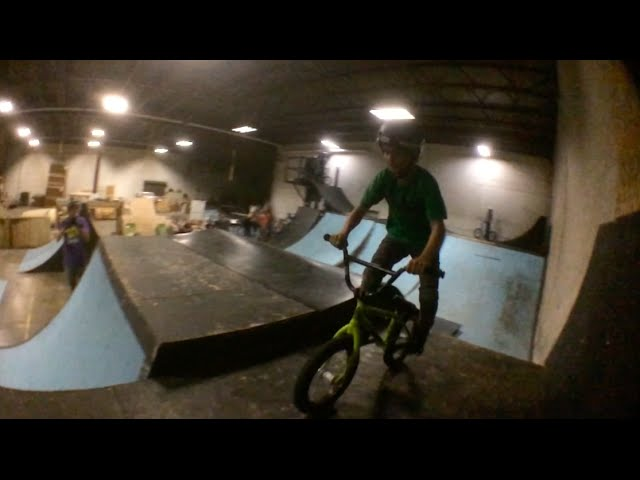 Lil Pros BMX Tour: Is this the Youngest Double Truckdriver Ever? 10 Year Old Kaden Stone