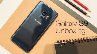 01. Samsung Galaxy S9 Unboxing & Set Up
