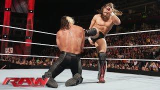සුපර් මෑන්ගේ පහරින් Daniel Bryanට ජය. Daniel Bryan vs. Seth Rollins: Raw, February 2, 2015