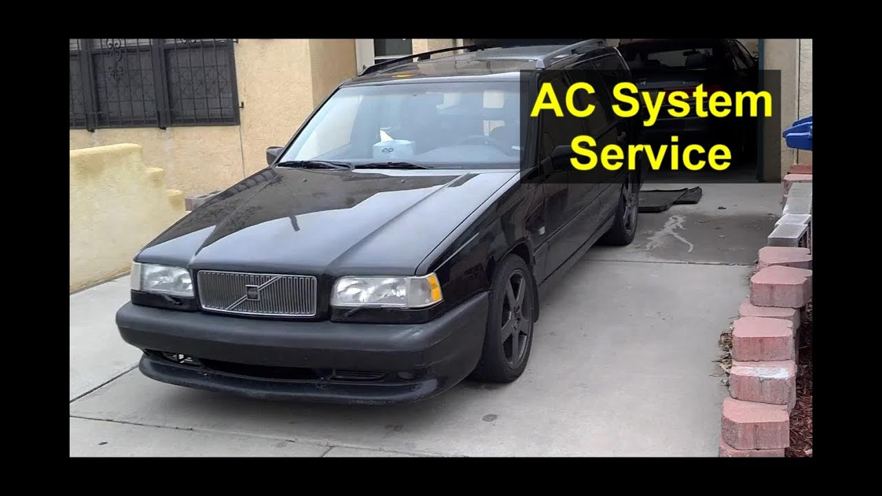 Auto air conditioning service 16