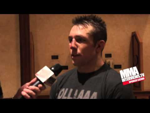 Team Alpha Male member Lance Palmer talks about his win at RFA 4