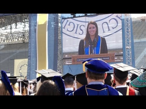 Commencement 2013: Valedictory Address