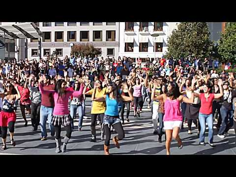 Bollywood Flash Mob At Union Square In San Francisco video
