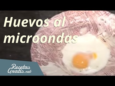 Hacer huevos fritos al microondas - Fried egg in the microwave