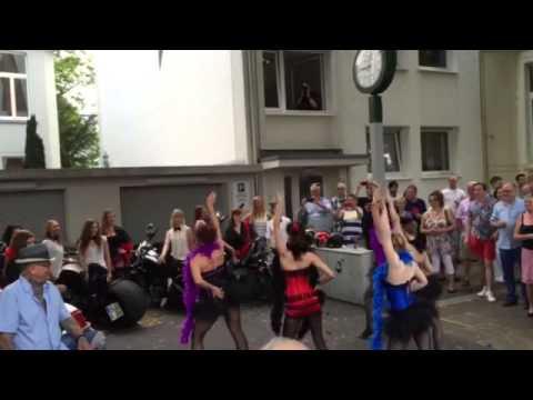 "Big Spender - Part 1 of the show during ""Sommerfest 2015"" at Lenné Snack Bonn"