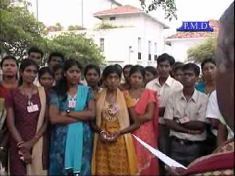 President met Jaffna Students .GTN News..wmv