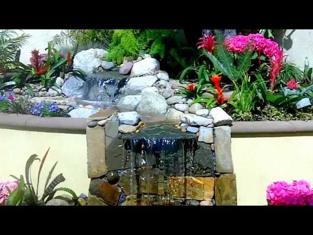 Pondless Waterfall in Los Angeles Enviroscape LA