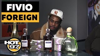 Fivio Foreign Talks Success From 'Big Drip' + Working With Rich The Kid and other artists w/ Drewski