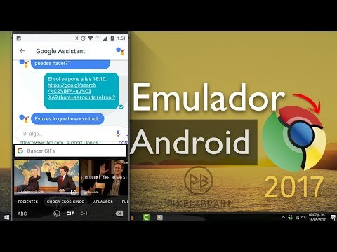 Emulador: Apps ANDROID con Google Chrome 2017   MacOS y Windows PC