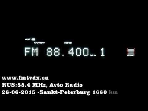 FM DX sporadic E in Holland: Russia 88.4 MHz  Avto Radio