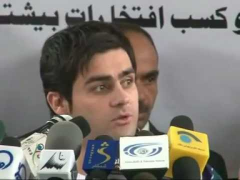 Baktash Siawash accused U.S puppet Hamid Karzai for supporting and protecting suicide bombers