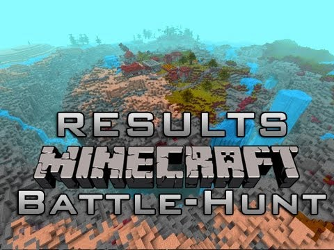 Minecraft: Who Won? Battle-Hunt? Scavenger Hunt MiniGame w/Mitch & Friends - RESULTS