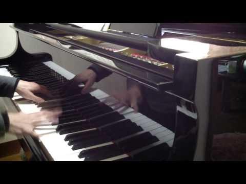 Japanese Enka tsugaru Kaikyo Fuyugeshiki Played By Piano ピアノ; 津軽海峡冬景色 video