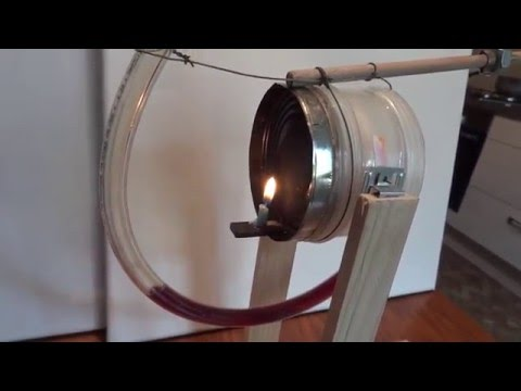 Not solar Rocky stirling engine (candle) . Red wine piston