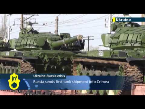 Ukraine Invasion Fears: Russia withdraws troops from Ukraine border, sends tanks to Crimea