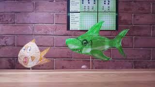 Baby shark song / DIY fun creative play