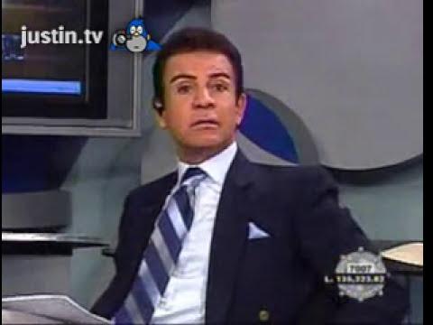 Salvador Nasralla reacciona a la llamada de David Sierra en fox