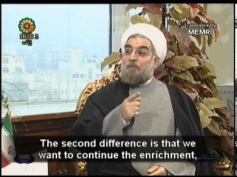 Iran Prez-Elect Hassan Rohani in '04: