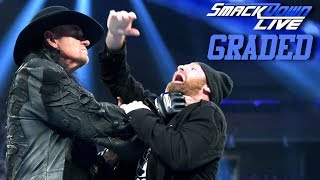 WWE SmackDown Live: GRADED (10 Sep) | Undertaker Returns, Shane McMahon Fires Kevin Owens