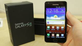 Samsung Galaxy S II Unboxing & Hands-On (International)