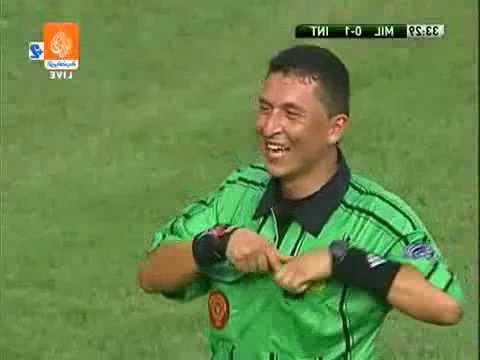 Ronaldinho Funny Red Card