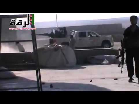Libyan Rebels in Syria Almost Get Hit By Syrian Army Rocket