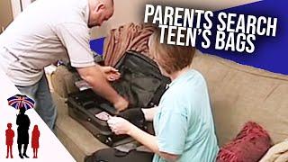Dad Finds Porno Film Hidden In Teenager's Suitcase | World's Strictest Parents