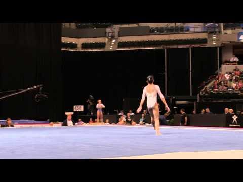 Lauren Navarro – Floor Exercise – 2015 P&G Championships – Sr. Women Day 1