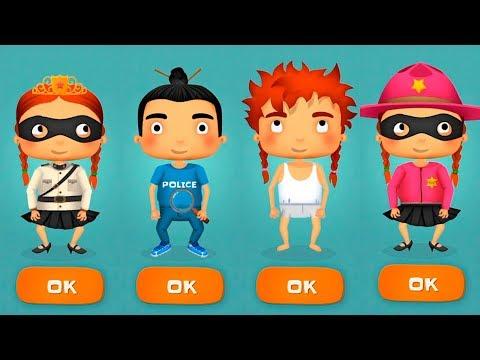Мультики про полицию ПОГОНЯ за воришкой Игровой мультфильм для детей Игры про машинки #малышерин