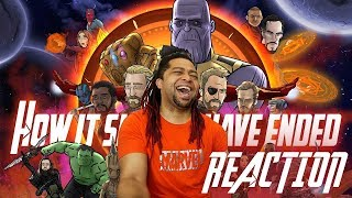 How Avengers Infinity War Should Have Ended - Reaction & Review!!!