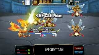 Monster Legends Avenged 3 Arch knight lv100
