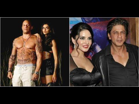 Deepika & Vin Diesel Warmly Welcomed At Mumbai | Shahrukh Shirtless Is Sunny Leone's Dream