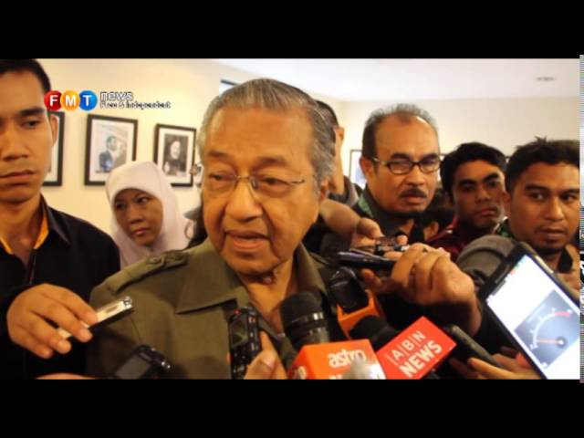 Mahathir disagrees with Obama's inequality remark