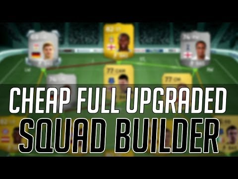 THE AFFORDABLE FULL UPGRADED HYBRID SQUAD (CHEAP)   FIFA 14 Ultimate Team Squad Builder (FUT 14)