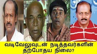 வடிவேலுவுடன் நடித்தவர்களின் தற்போதய நிலை? | Tamil Cinema News Kollywood Tamil News
