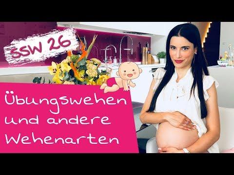 26. SSW | Ab wann kommen Wehen in der Schwangerschaft und wie fühlen sich Wehen an?