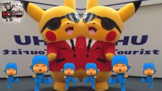 Liên Khúc Nhạc Thiếu Nhi | Cover Mèo Tom Xàm Xí | Phiên Bản Pikachu