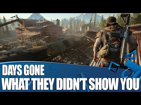 Days Gone PS4 Gameplay - What They Didn't Show You At The Conference