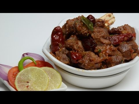 Lamb Fry - Chettinad Uppu Kari - Salted Mutton Curry